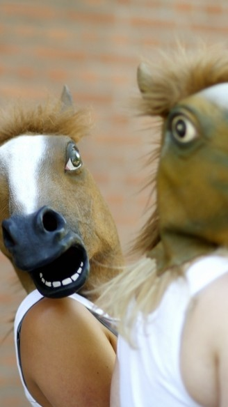 Rasoptimisten van Tg DonkeysHot <br/>Foto: Nina Sondagh