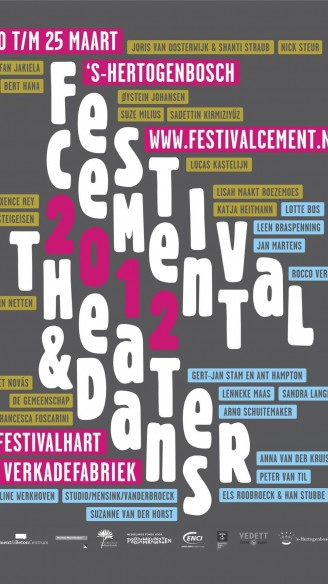 festival CEMENT<br/>20 t/m 25 maart 2012